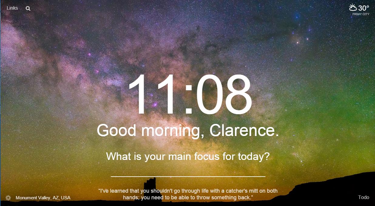 Google Chrome Momentum – clar's misadventures